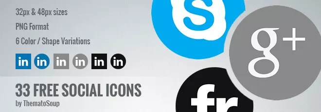 Free Social Icons by ThematoSoup Featured Image