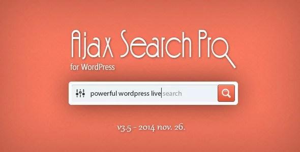 Ajax Search Plugin for WordPress