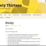 Holi - Yellow Twenty Thirteen WordPress Child Theme