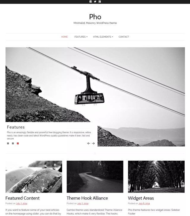 Free Masonry WordPress theme