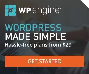 WP Engine, fastest WordPress managed hosting