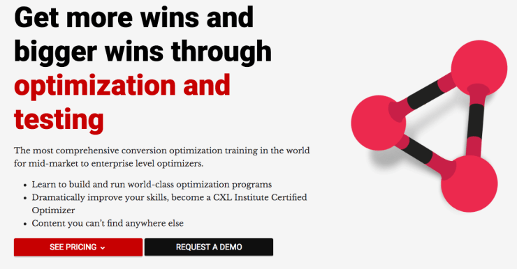 Conversion Rate Optimization Course by CXL