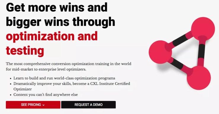 Conversion Rate Optimization Course by CXL