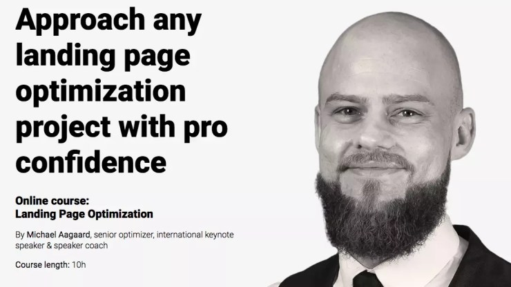Landing Page Optimization Online Course by CXL Institute Review