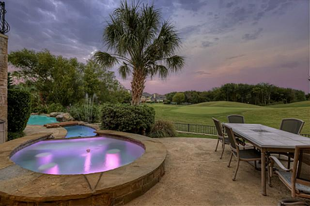 French Country Estate on Fifth Hole of Buffalo Creek in Heath Texas