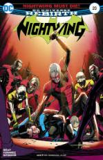 Nightwing comic book 20 cover