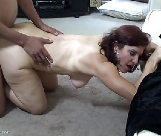 Redhead Mom With Saggy Tits Is An Eager Cock Rider
