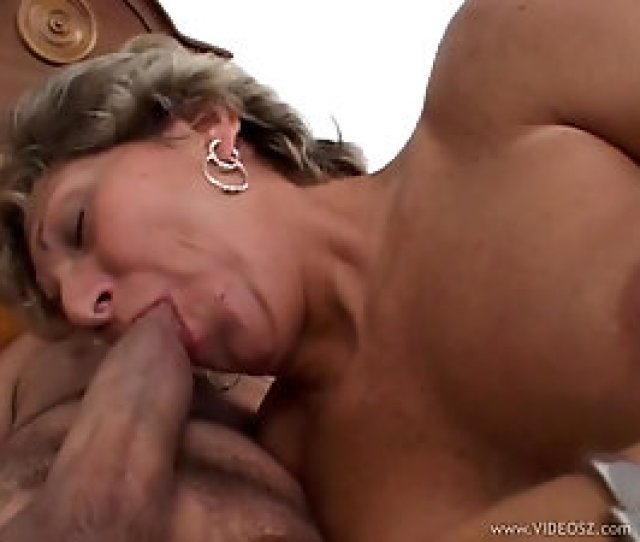 Balding Guy Plows Shaved Mature Pussy Super Hard In Bed
