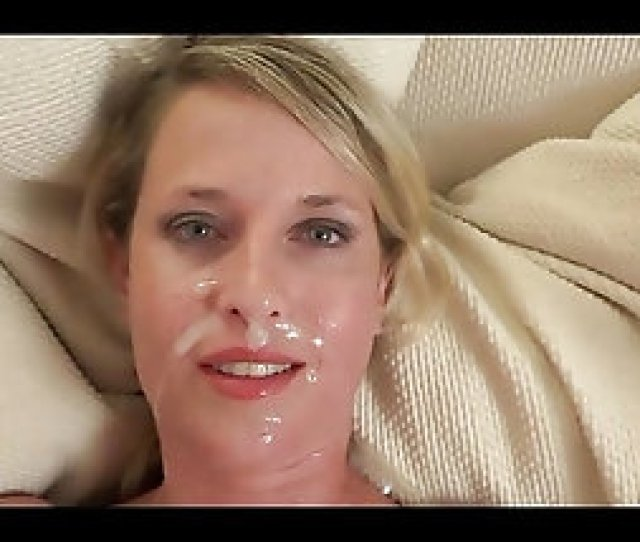 Blonde Milf Ends Fucking With Some Jizz On Her Face