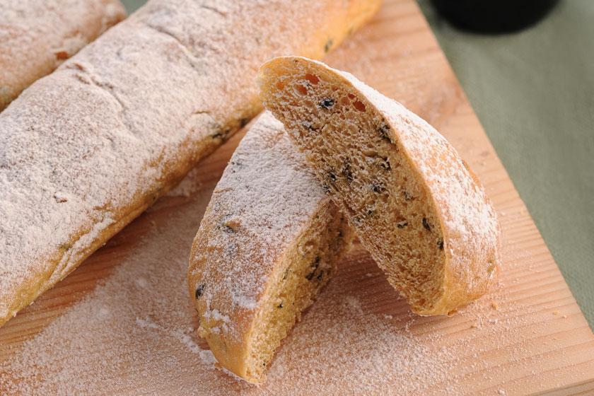 Malunggay Garlic Baguette