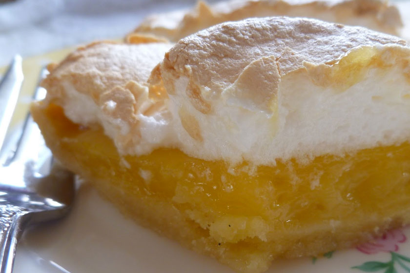 Pineapple Meringue Cake