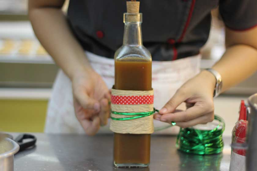 Caramel Flavored Coffee Syrup