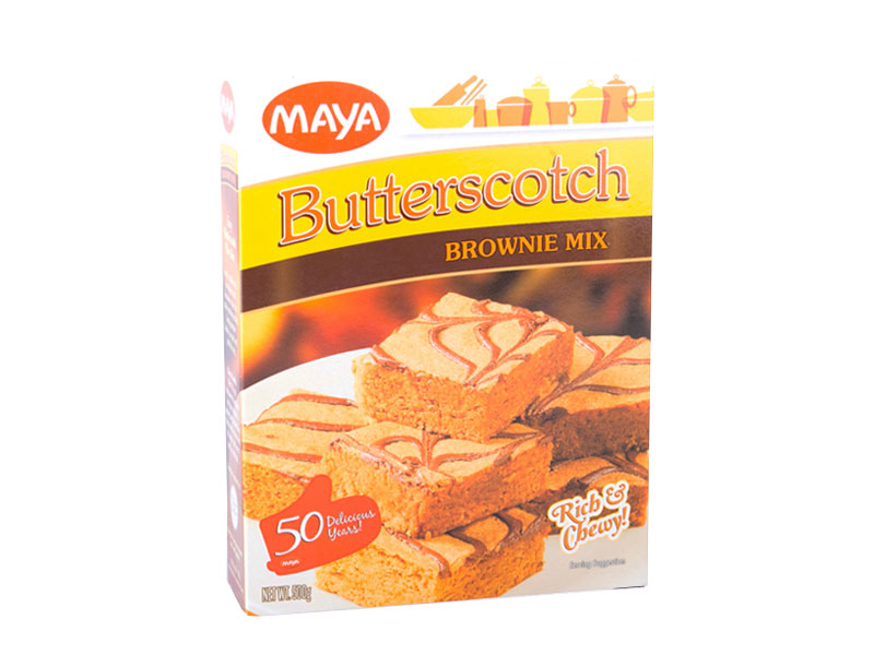 Maya Butterscotch Brownie Mix