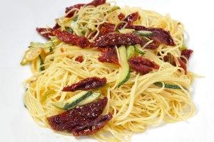 Cappelini Pomodoro Secchi e Zucchine