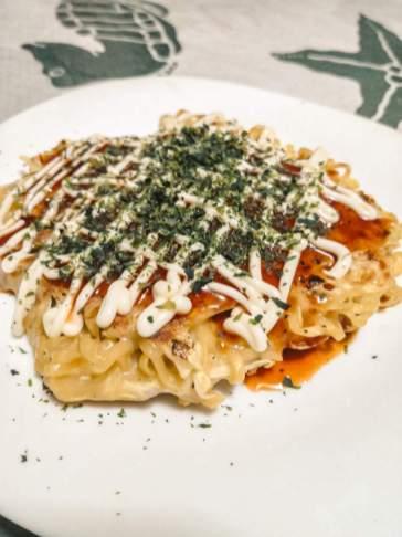 Easy Nikutama Okonomiyaki
