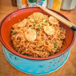 Kuey Teow Style Stir-Fried Noodles