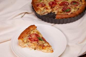 Quizza (Quiche and Pizza)