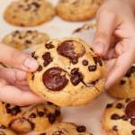 Thick And Moist Chocolate Chip Cookies