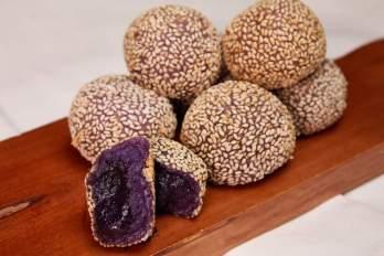 Ube Flavored Buchi