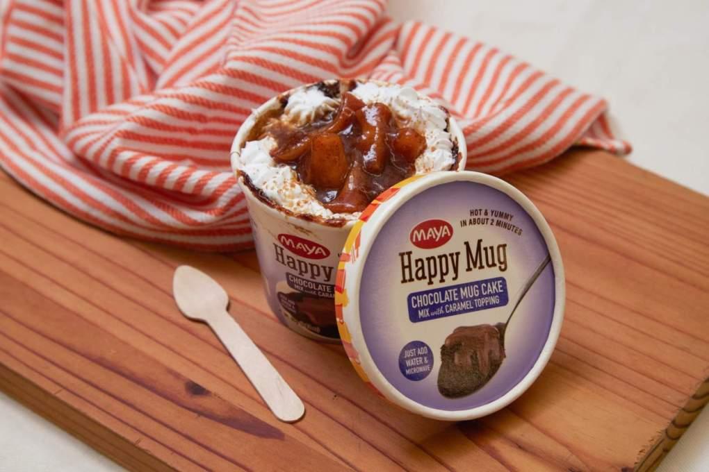 Chocolate Apple Pie Mugcake