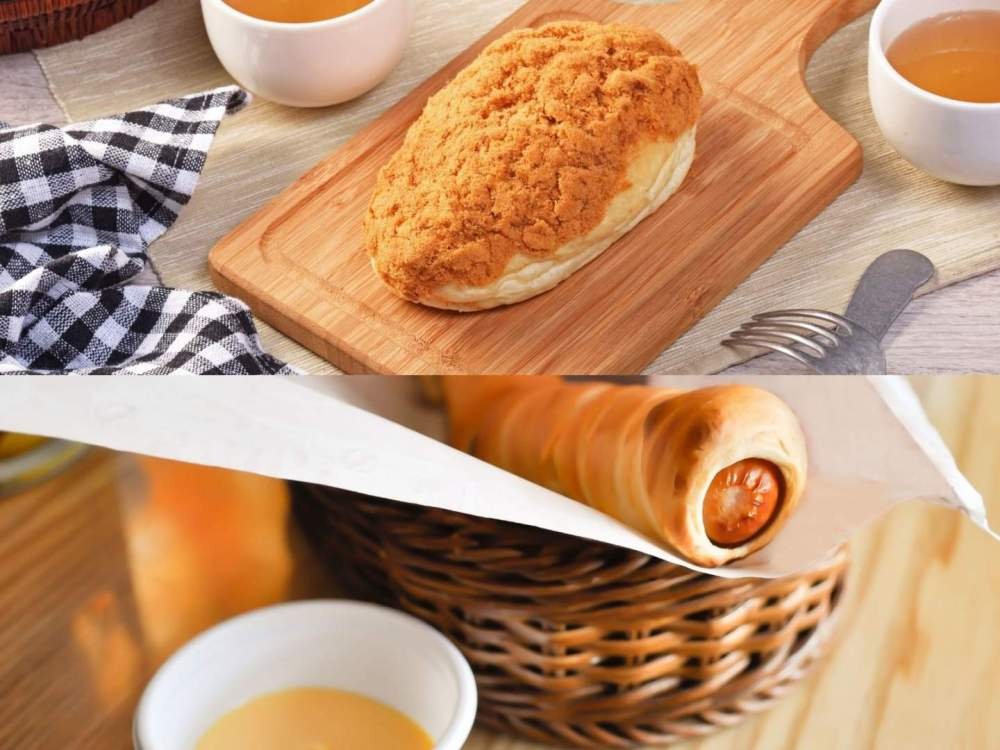 Sausage Stuffed Bread and Bread Floss