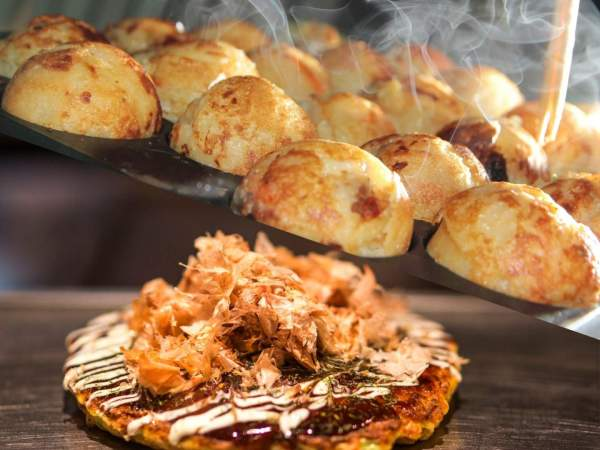 Takoyaki and Okonomiyaki Class
