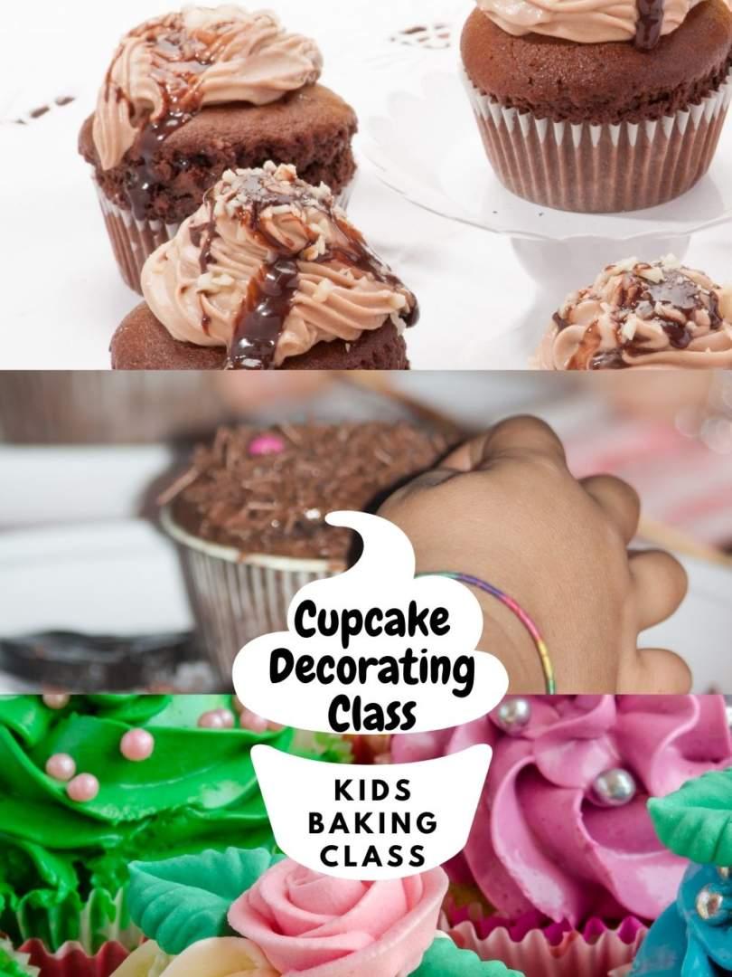 Kids Baking Class Cupcake Decorating Class