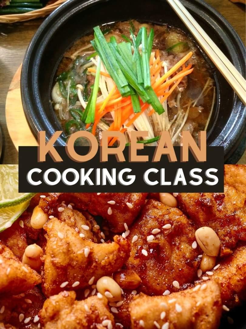 Korean Online Cooking Class