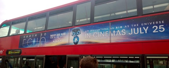 Earth to Echo Bus