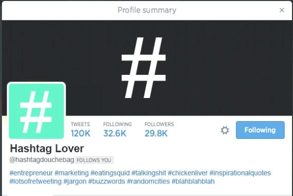 Hashtag Profile
