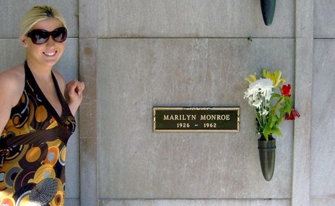 The closest I'm going to get to meeting Marilyn Monroe