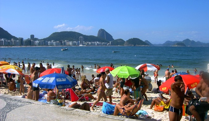 Rio-Copacabana-Beach-Goers