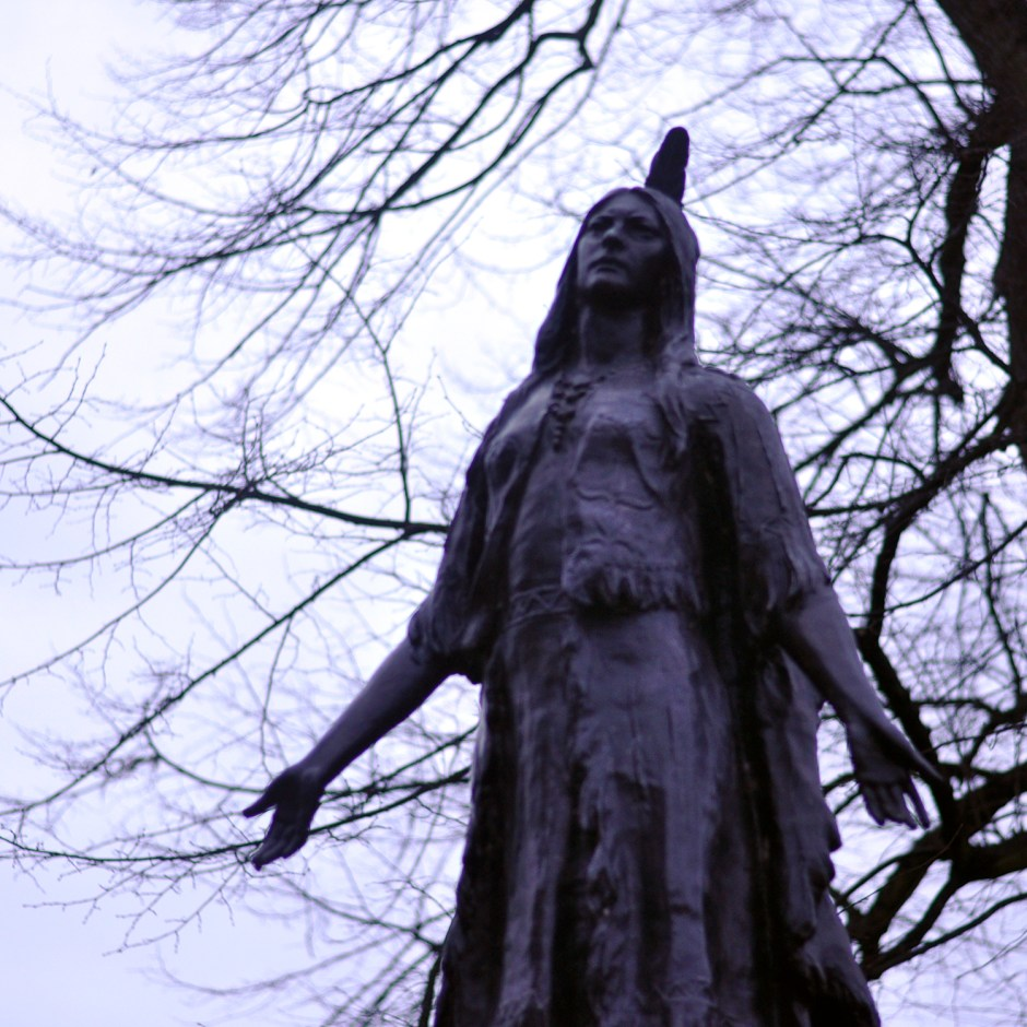Pocahontas in Gravesend