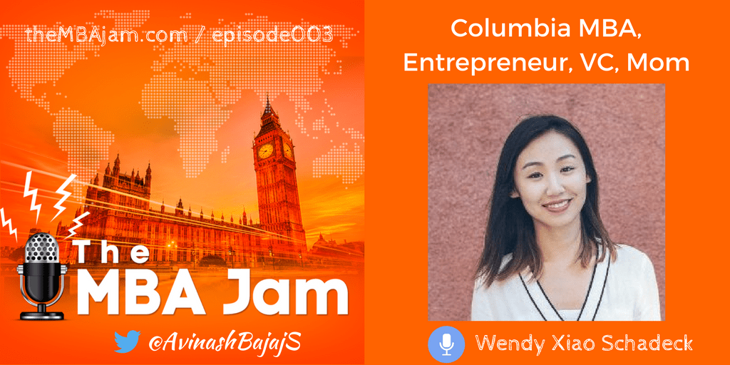 Episode #003 : Wendy Xiao Schadeck | Columbia MBA | Venture Investor Northzone | Co-Founder CoHatchery