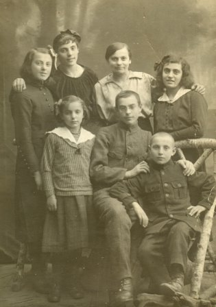 The Brody 'children'- my great grandparents and their siblings
