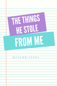 What he stole