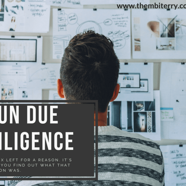 Run due diligence