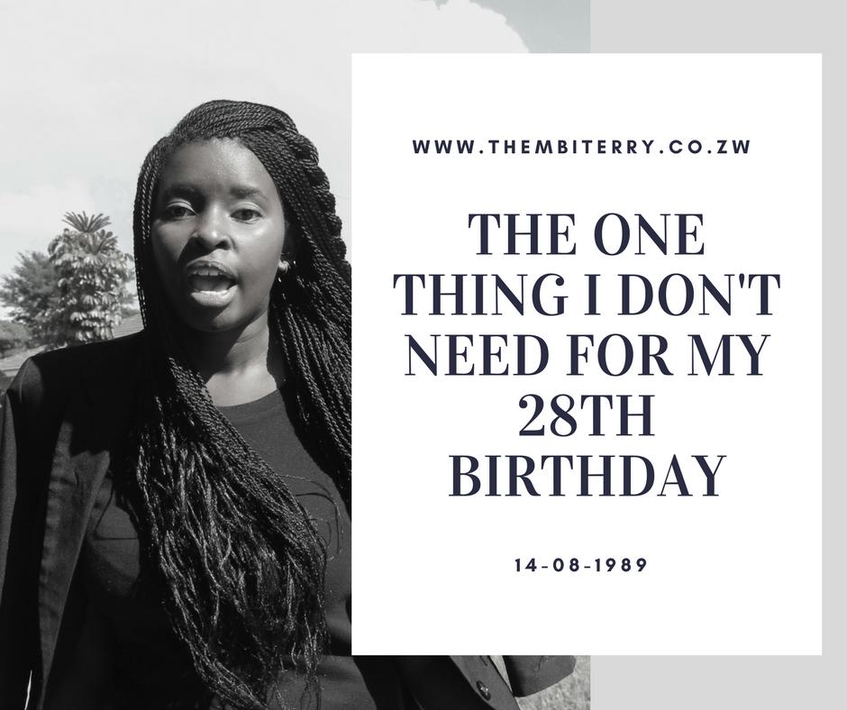 Zimbabwean Blogger Thembi Terry 28th Birthday