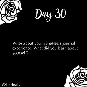 Things I Learnt During #SheHeals