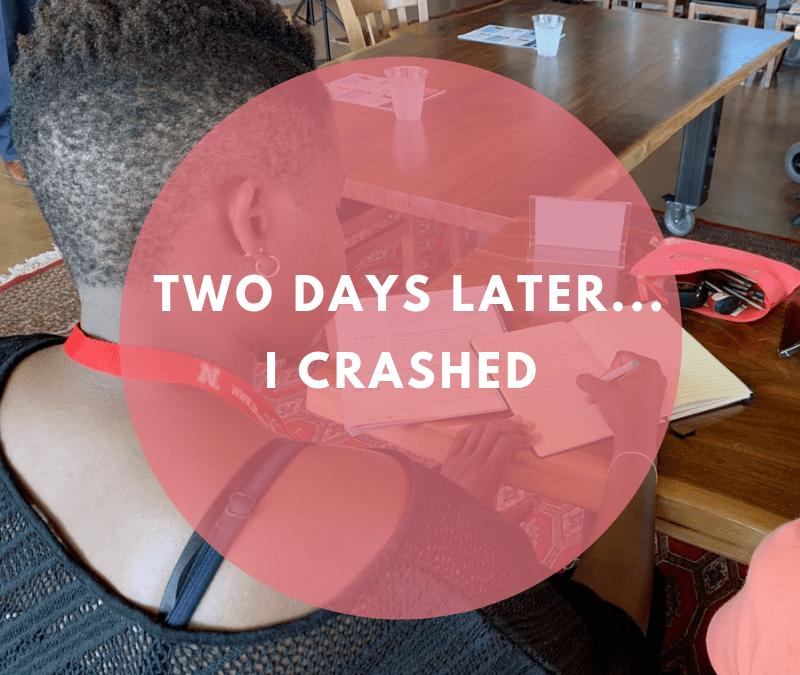#YALI2019 Two Days Later…I Crashed