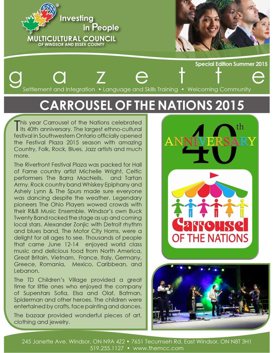 The Gazette - Carrousel Edition 2015