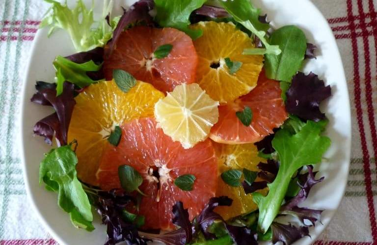 Vero Beach Citrus Salad