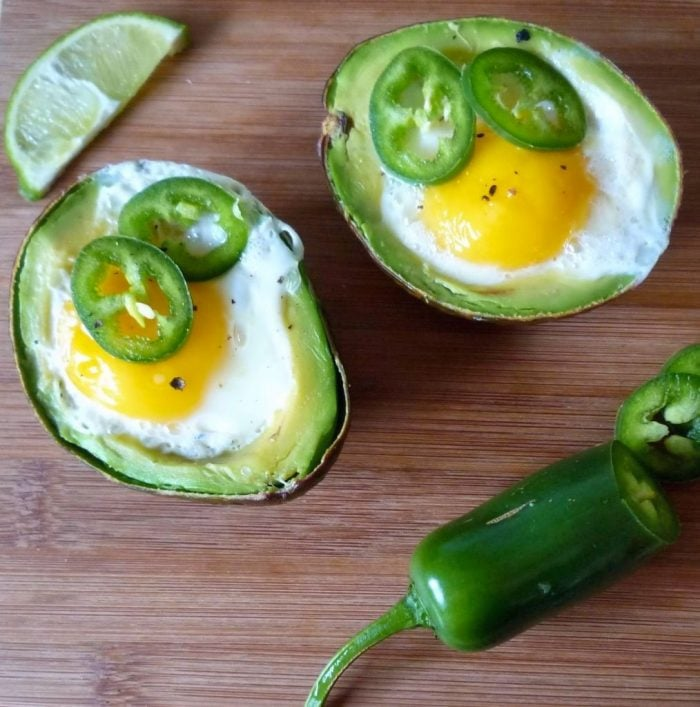 Easy Avocado and Egg with Jalapeno is an easy Keto-Friendly Breakfast that is sure to satisfy anyone's hunger in the morning or even for a quick snack.