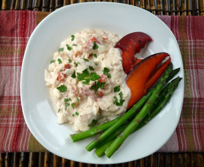 Dublin Lawyer , Lobster, Irish Whiskey Cream Sauce