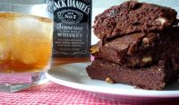Jack Daniel's Pecan #Caramel #Fudge #Brownies