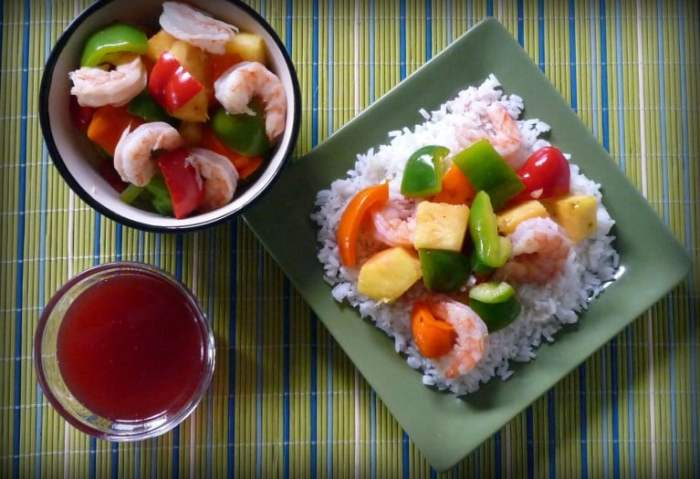 This amazing DIY recipe for Light Sweet and Sour Shrimp is much more healthy for you and to has far fewer calories than your average Chinese Take-Out or Delivery.  You will find no heavy breading on the shrimp, hence far less fat or empty calories since we will not be frying as traditional method calls for when making Sweet and Sour Shrimp.