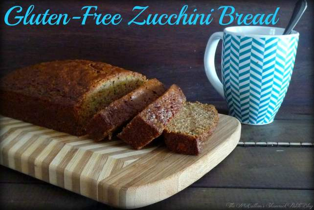 #GlutenFree Zucchini Bread