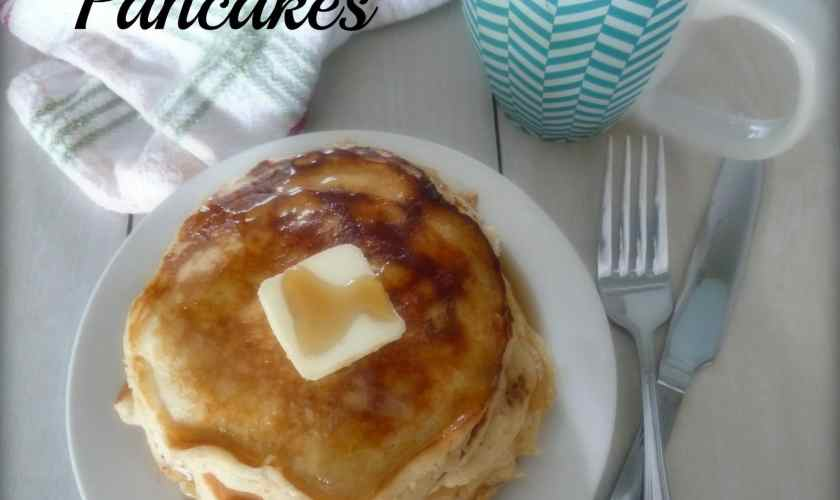 Gluten-Free Cinnamon Apple Pancakes