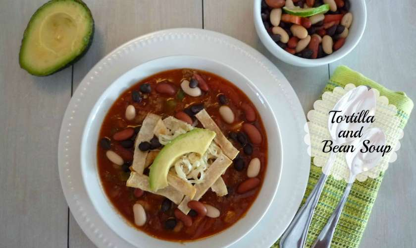 Bean and Tortilla Soup