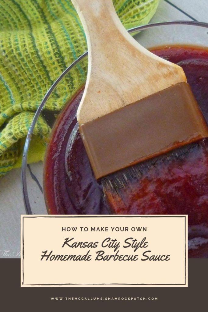 Kansas City Style Homemade Barbecue Sauce